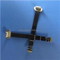 无线接收器插头-双面插苹果6公头 带FFC排线