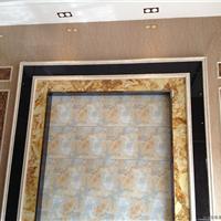 厂家供应仿大理石UV板、石塑线条