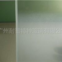 厂家直销渐变蒙砂玻璃隔断渐变玻璃特种玻璃