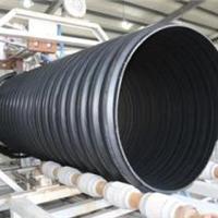 供应内蒙五原PE钢带管、钢带增强螺旋波纹管