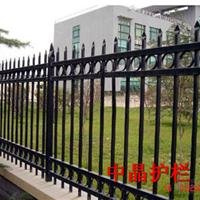 供应扬州锌钢静电喷涂围墙护栏