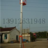 小型单桅柱铝合金升降机 移动式降机平台