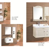 致悦厂家供应陶瓷洗手盆组合柜 挂墙式吊柜
