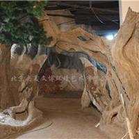 水泥假山假树设计施工
