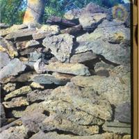 红色火山岩 园林防古火山岩 火山岩文化石