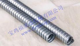 供应单扣镀锌金属软管 热浸锌裸管Φ12