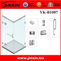 供应YK-B1007不锈钢移门90度浴室