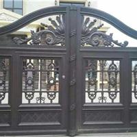 设计生产销售豪华大门、庭院铝艺大门