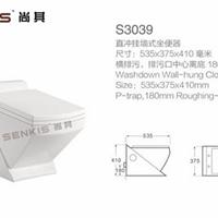供应陶瓷挂式坐便器墙式悬挂冲水马桶座便器