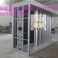 供应推拉式瓷砖展示柜0801斜铝扣板展架