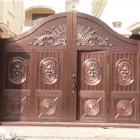 供应铜门 铜玻璃门 双开门 子母门