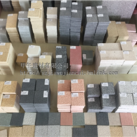 厂家销售 生态石 仿石砖 PC砖等园林建材
