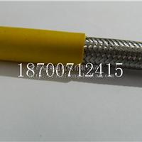 供应单扣不锈钢包塑软管 单勾蛇皮管Φ25