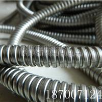 供应广西穿线不锈钢金属软管20单勾蛇皮管