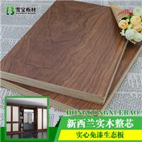 2017年生态板十大品牌雪宝板材古木沉香介绍