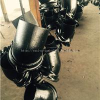供应优质B型柔性铸铁管件-45?承插弯头