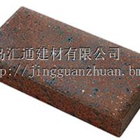 供应铁锈色烧结砖咖啡色广场砖园林景观砖