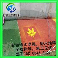 宁波地区彩色透水混凝土 价格优惠服务一流