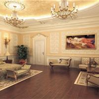 石膏线条装修效果图 室内装修效果展现