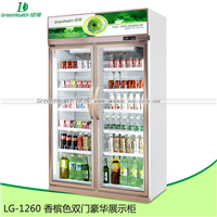 供应二门冰柜便利店冷柜专用