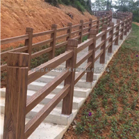水泥仿木栏杆 仿木花架 仿木花箱 仿木地砖