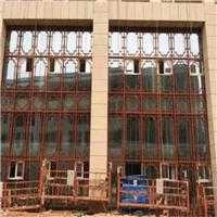 杭州铝合金窗花 泉州木纹铝窗花铝屏风厂家