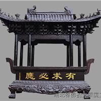 铸铜铸铁长方形大香炉定制厂家 湖北佛圣堂