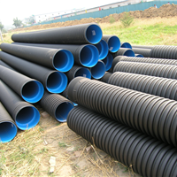 排水管材HDPE双壁波纹管价格超实惠