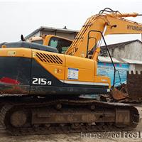 二手现代215-9挖掘机出售