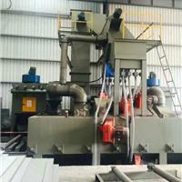 通过式抛丸机 佛山大型槽钢表面处理 输送式通过式抛丸机厂家