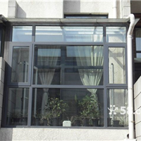 天津东丽区断桥铝门窗,专业封阳台,露台