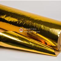供应鑫茂优质金色铝箔隔热带 反辐射耐热铝箔带