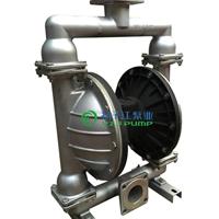 QBY型不锈钢气动隔膜泵,耐腐蚀化工泵,浆泵