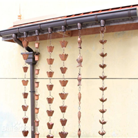 工厂直供金属天沟成品天沟紫铜檐沟雨水链金属复合瓦