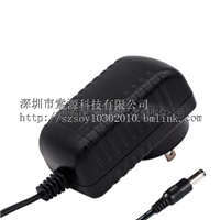 12V2A美规UL认证电源适配器-深圳市索源科技有限公司