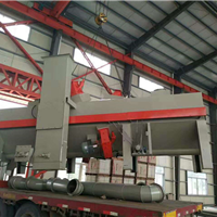 铝材喷砂机 广东铝板毛刺喷砂机 高效率平面输送自动喷砂机厂家