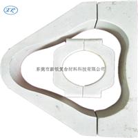 供应玻璃钢电缆抱箍 品字形电缆固定夹