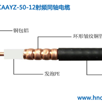 联创HCAAYZ-50-12射频同轴电缆 用于无线对讲系统