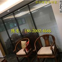 深圳办公室玻璃加百叶帘隔墙