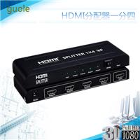 HDMI高清分配器一分四HDMI分配器一进四出