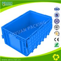 厂家出售EU4628带盖塑料周转箱