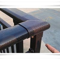 巢湖建筑爬梯扶手楼梯栏杆找中晶护栏生产厂家订做安全环保不生锈