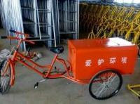 保洁三轮车、环卫垃圾车、脚踏保洁车、厂家定制不锈钢三轮车